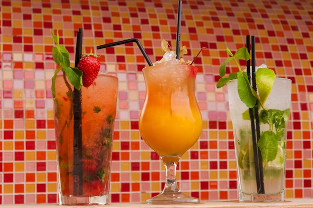 Lekkere non-alcoholische cocktails met ijs