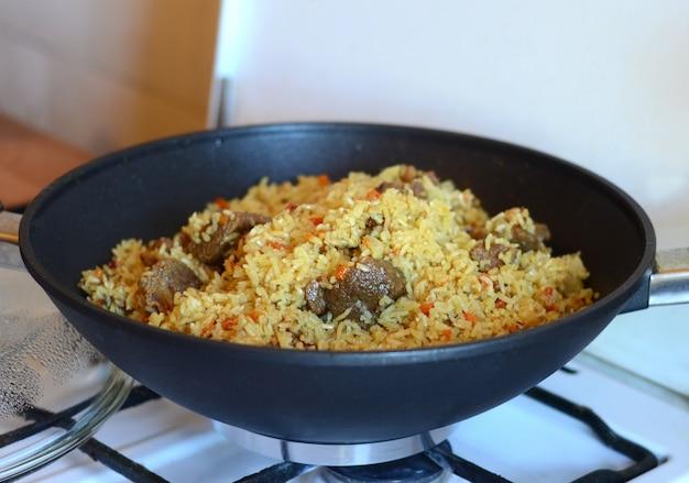 Lekkere rijst in een pot