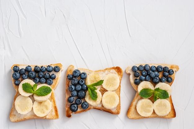 Lekkere zelfgemaakte sandwiches