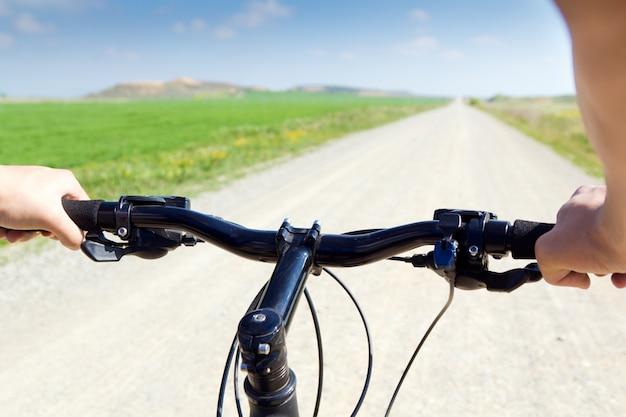 Lente fietsen