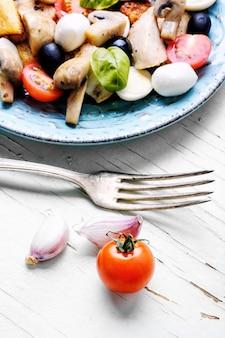 Lente groentesalade