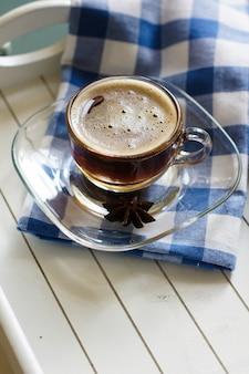 Lente koffie