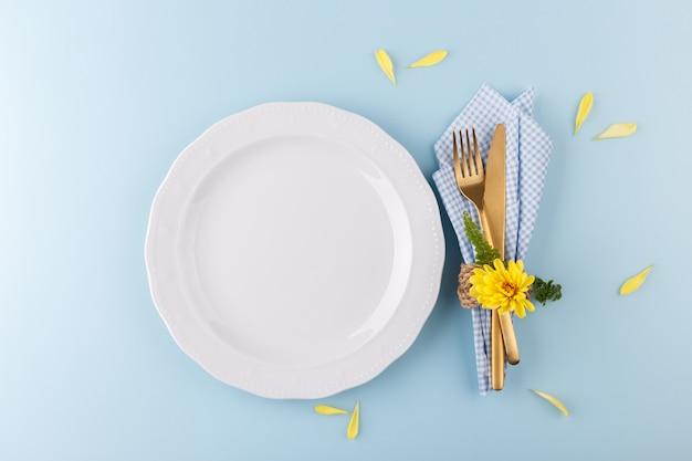 Lente tafel instelling