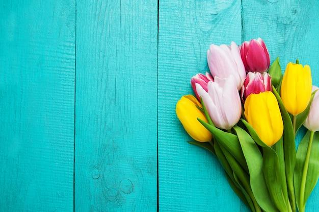 Lente tulpen bloemen