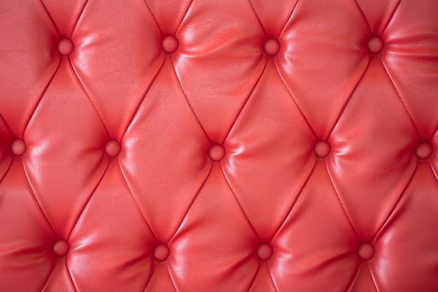 Leren bankstel met roze kleurhuid