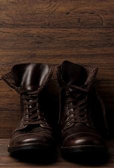 Leren laarzen
