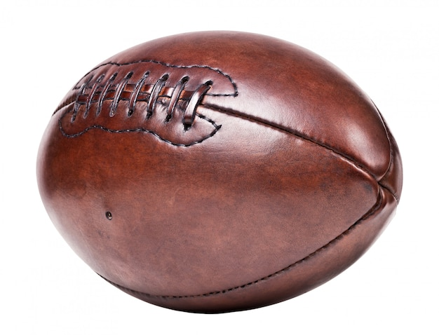 Leren vintage voetbal