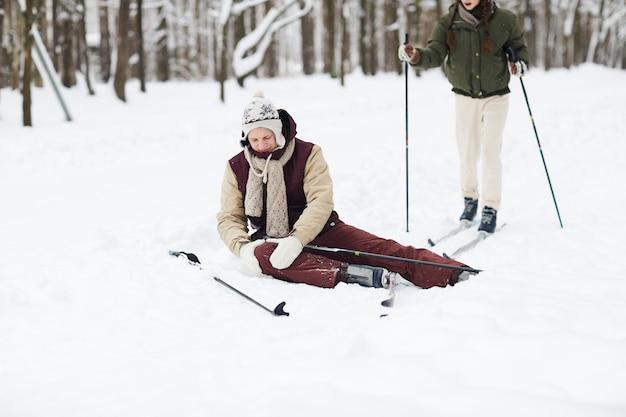 Letsel tijdens het skiën