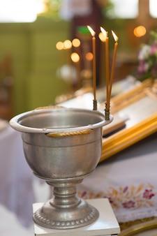 Lettertype voor doop in de kerk
