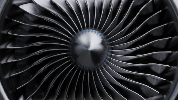 Lettertypeweergave voor straalmotor.