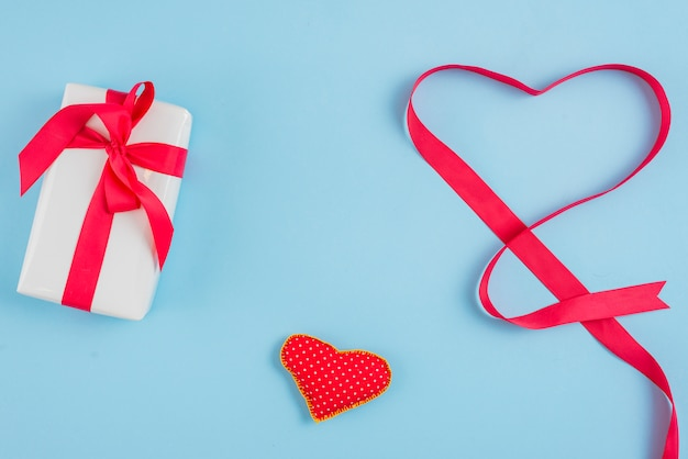 Leuk cadeau in de buurt van hart en lint