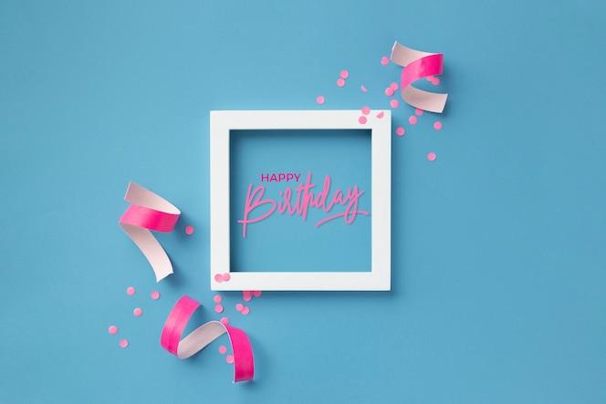 Leuk kleurrijk om verjaardag te feliciteren