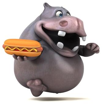 Leuk nijlpaard