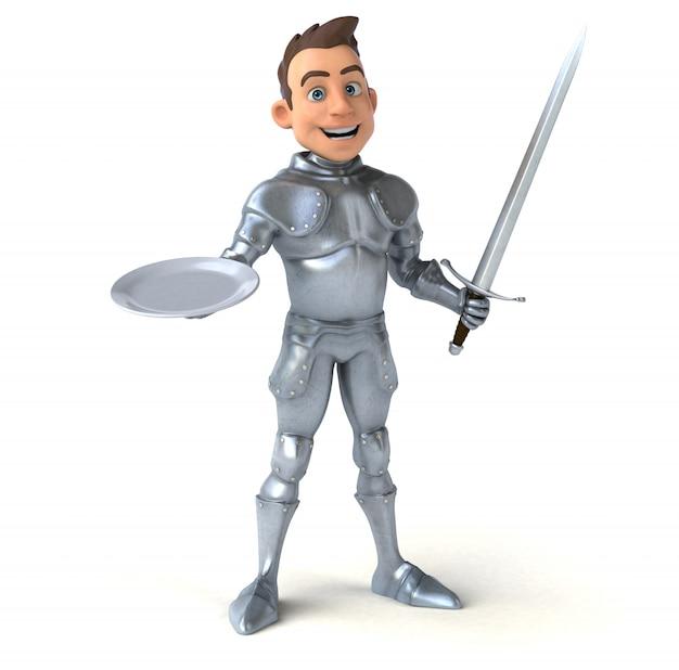 Leuk ridderkarakter
