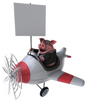 Leuk varken - 3d illustratie