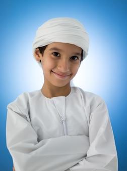 Leuke arabische jongen