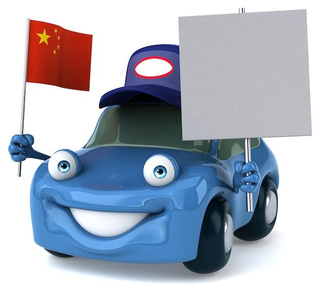 Leuke auto-animatie
