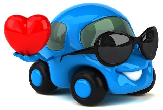 Leuke auto illustratie