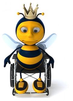 Leuke bee animatie animatie