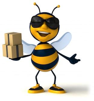 Leuke bijen animatie
