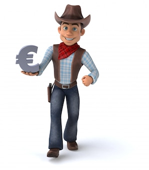 Leuke cowboy-animatie
