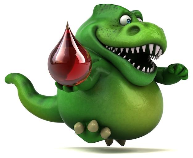 Leuke dinosaurus - 3d illustratie