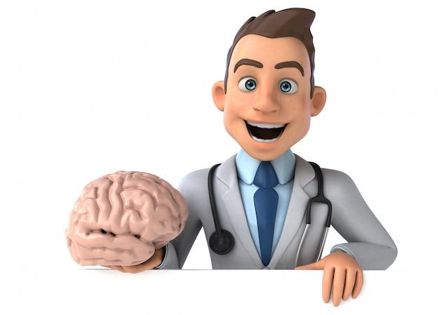 Leuke dokter animatie