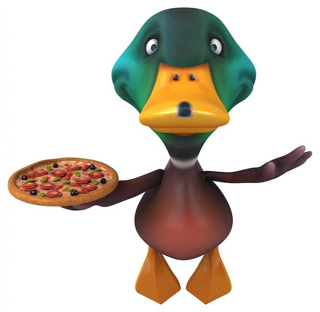 Leuke duck-animatie