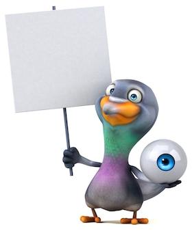 Leuke duif illustratie