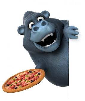 Leuke gorilla-animatie