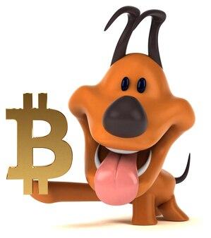 Leuke hond - 3d illustratie