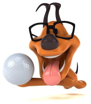 Leuke hond illustratie