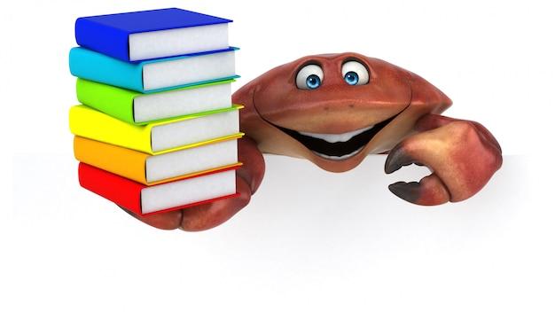 Leuke krab-animatie