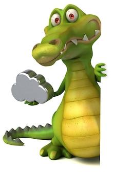 Leuke krokodil