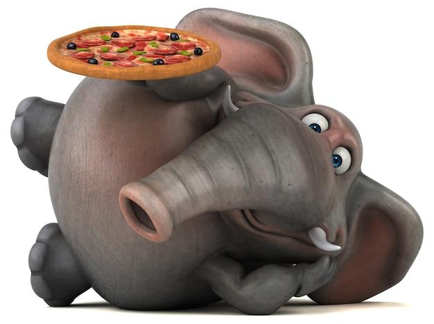 Leuke olifant illustratie