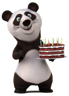 Leuke panda-animatie