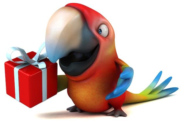 Leuke papegaai