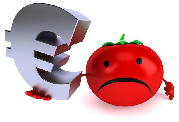Leuke tomatenanimatie