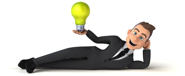 Leuke zakenman illustratie
