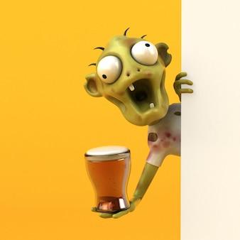 Leuke zombie - 3d-personage