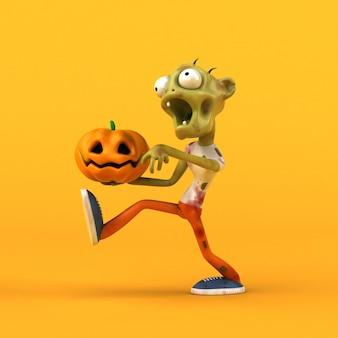 Leuke zombie illustratie