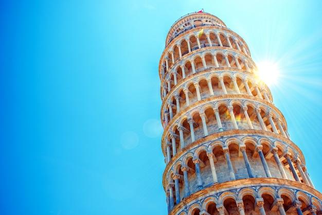 Leunende toren van pisa
