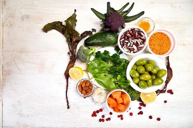 Lever detox dieet gezondheidsvoedsel concept, gezonde lever.