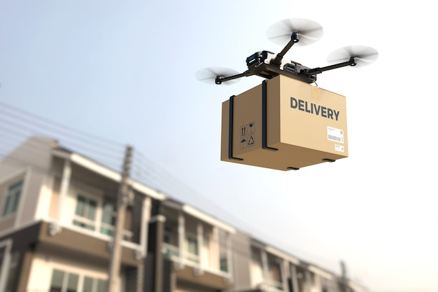Levering drone concept