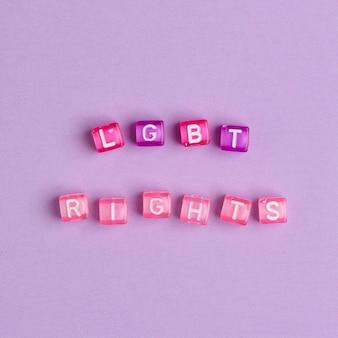Lgbt-rechten, citaat met kralen