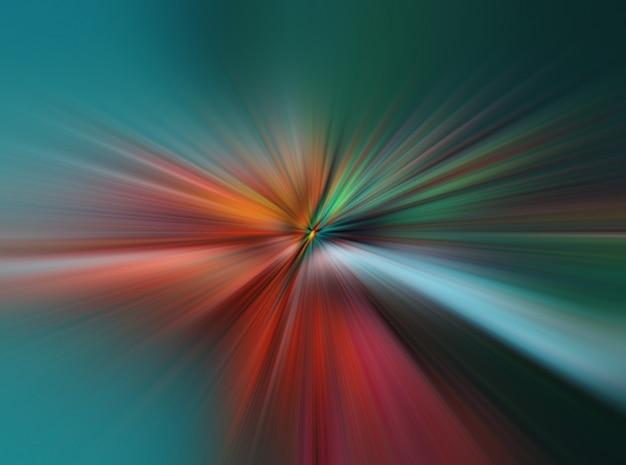 Licht explosie ster met gloeiende deeltjes en lijnen. prachtige abstracte stralen achtergrond