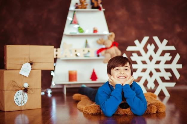 Licht liefde grappige kerstmis studio
