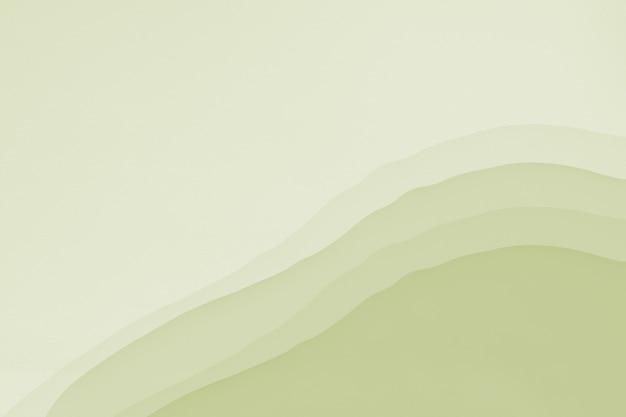 Licht olijfgroen aquarel textuur behang