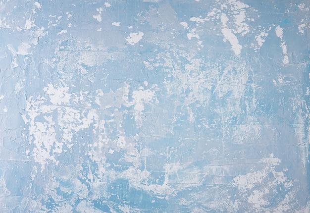Lichtblauw grijze beton achtergrond muur textuur kopie spase