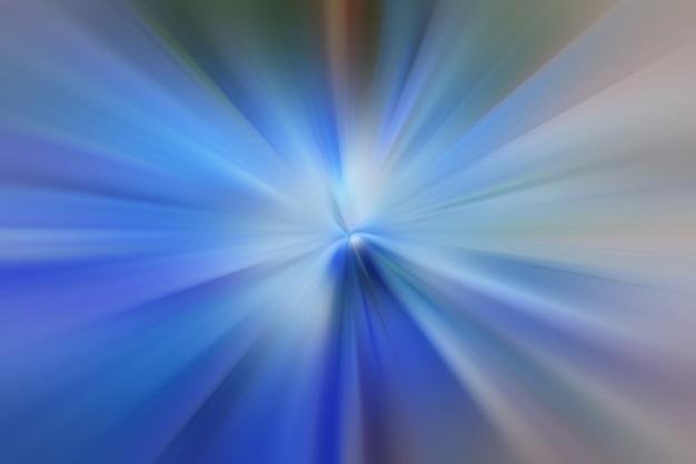 Lichtblauwe kleur gloeiende deeltjes en lijnen. prachtige abstracte stralen achtergrond